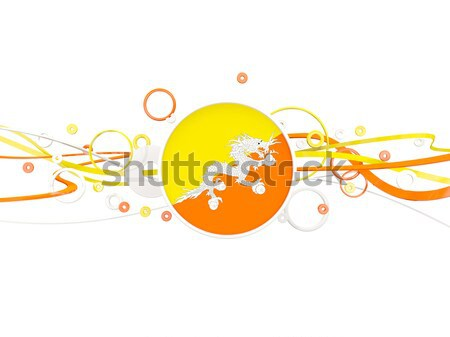 Bandeira Butão ilustração 3d viajar Foto stock © MikhailMishchenko
