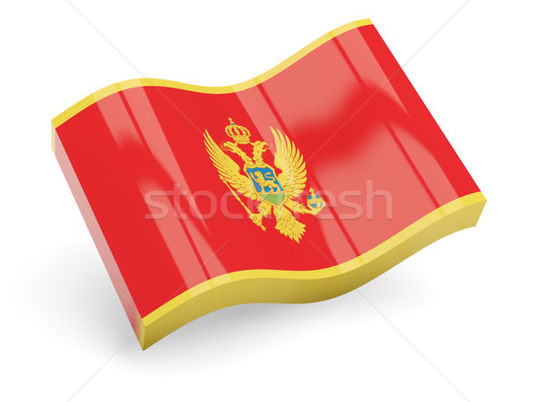 3D флаг Черногория изолированный белый путешествия Сток-фото © MikhailMishchenko