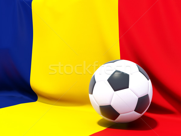 флаг Румыния футбола команда стране Сток-фото © MikhailMishchenko