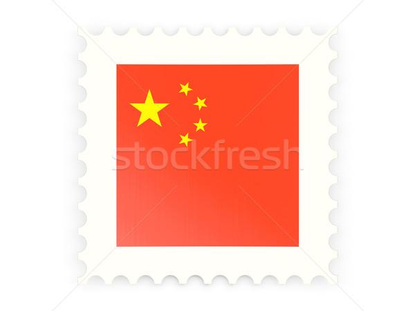 Postage stamp icon of china Stock photo © MikhailMishchenko