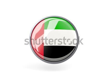икона флаг Объединенные Арабские Эмираты металл кадр путешествия Сток-фото © MikhailMishchenko