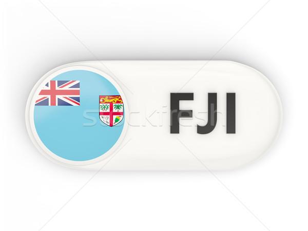Icon vlag Fiji iso code land Stockfoto © MikhailMishchenko