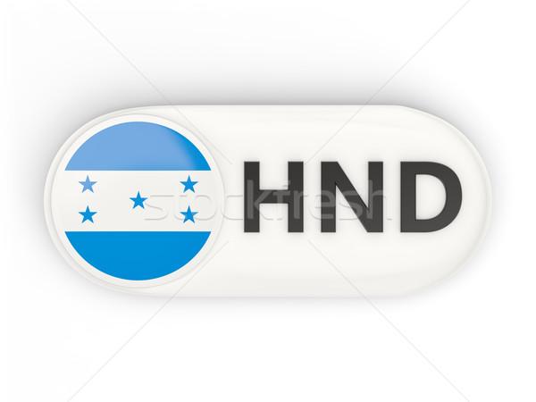 икона флаг Гондурас iso Код стране Сток-фото © MikhailMishchenko