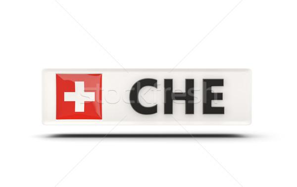 広場 アイコン フラグ スイス iso コード ストックフォト © MikhailMishchenko