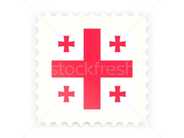 Postage stamp icon of georgia Stock photo © MikhailMishchenko