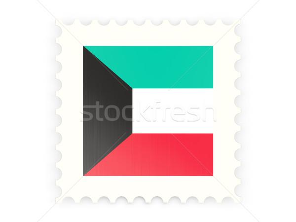 почтовая марка икона Кувейт изолированный белый знак Сток-фото © MikhailMishchenko