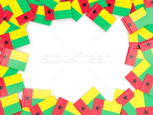 Frame with flag of guinea bissau Stock photo © MikhailMishchenko
