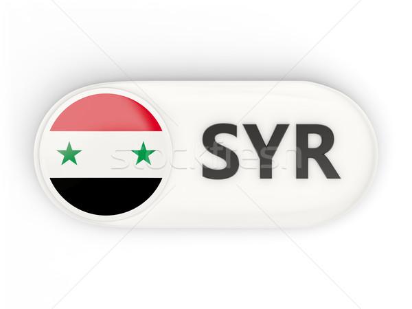 Icon vlag Syrië iso code land Stockfoto © MikhailMishchenko