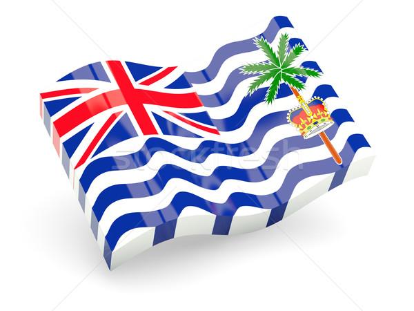 3d flag of British Indian Ocean Territory Stock photo © MikhailMishchenko