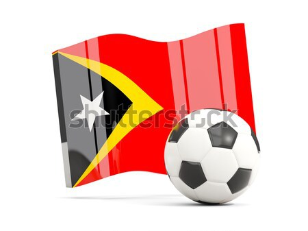 флаг Ангола футбола команда стране Сток-фото © MikhailMishchenko