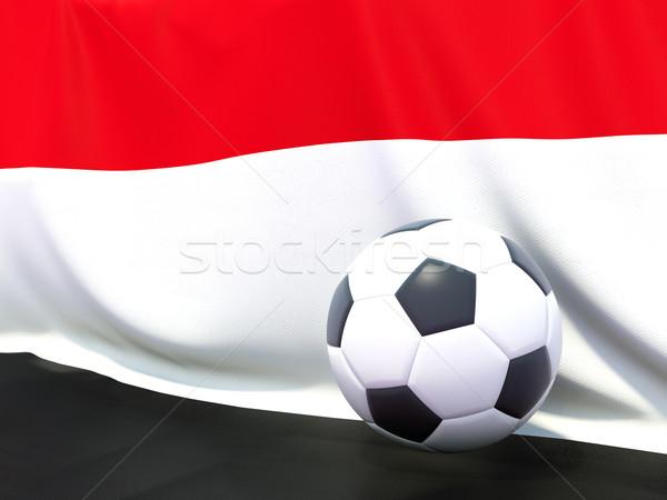 флаг Йемен футбола команда стране Сток-фото © MikhailMishchenko