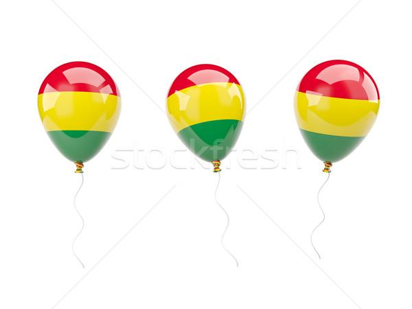 Air balloons with flag of bolivia Stock photo © MikhailMishchenko