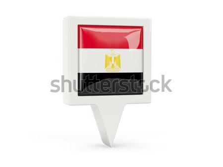 Square metal button with flag of tajikistan Stock photo © MikhailMishchenko