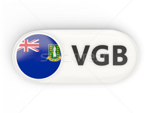 икона флаг Виргинские о-ва британский iso Код Сток-фото © MikhailMishchenko
