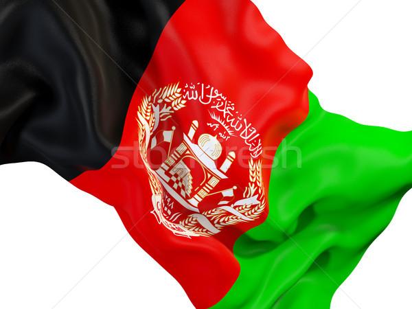 флаг Афганистан 3d иллюстрации путешествия Сток-фото © MikhailMishchenko
