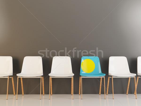 椅子 フラグ パラオ 白 チェア ストックフォト © MikhailMishchenko