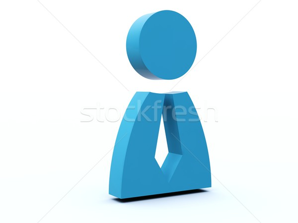 Person icon Stock photo © MikhailMishchenko