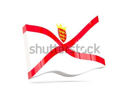 3d flag of jersey Stock photo © MikhailMishchenko