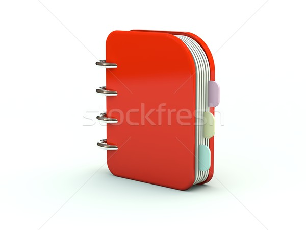 Notebook icon Stock photo © MikhailMishchenko