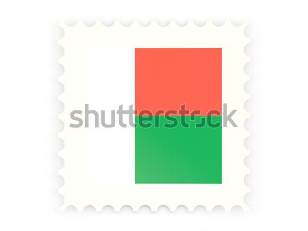 Postage stamp icon of oman Stock photo © MikhailMishchenko