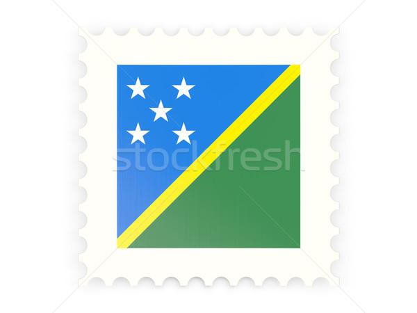 Icona Isole Salomone isolato bianco segno Foto d'archivio © MikhailMishchenko