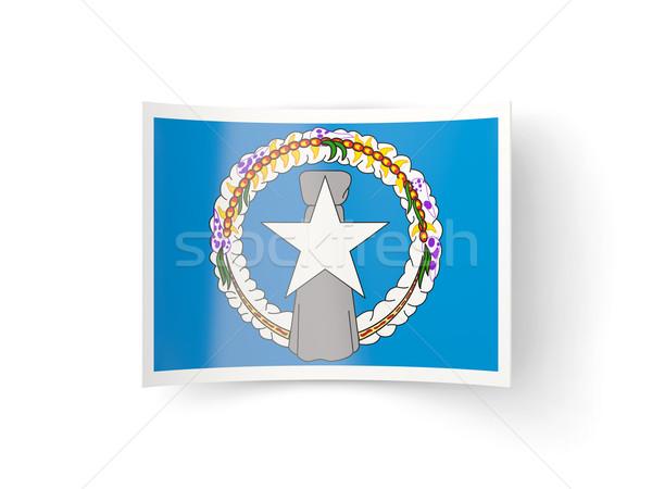 Bent icon with flag of northern mariana islands Stock photo © MikhailMishchenko