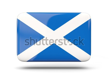Square icon with flag of scotland Stock photo © MikhailMishchenko
