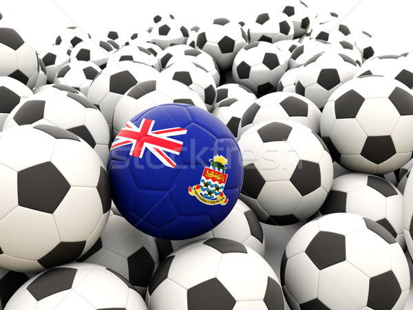 Football with flag of cayman islands Stock photo © MikhailMishchenko
