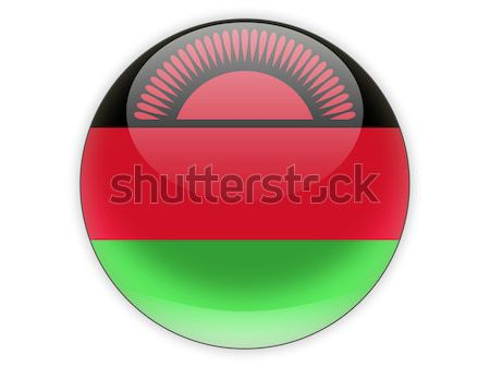 Round icon with flag of malawi Stock photo © MikhailMishchenko