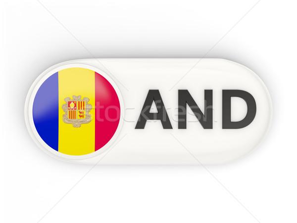 Symbol Flagge Andorra iso Code Land Stock foto © MikhailMishchenko