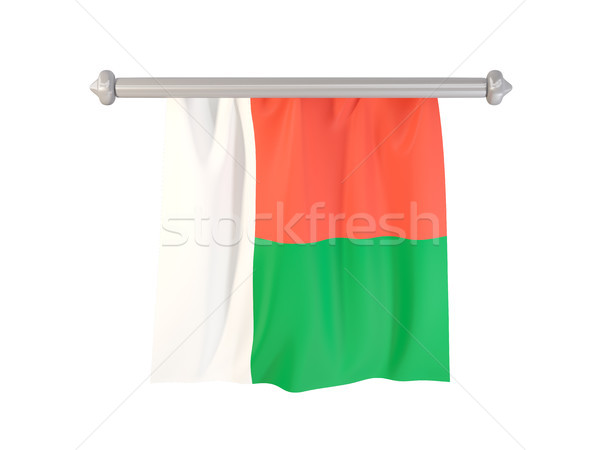 Pennant with flag of madagascar Stock photo © MikhailMishchenko