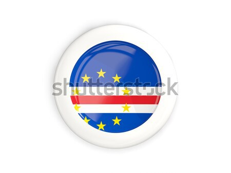 Round icon of flag of cape verde Stock photo © MikhailMishchenko