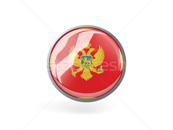 икона флаг Черногория металл кадр путешествия Сток-фото © MikhailMishchenko