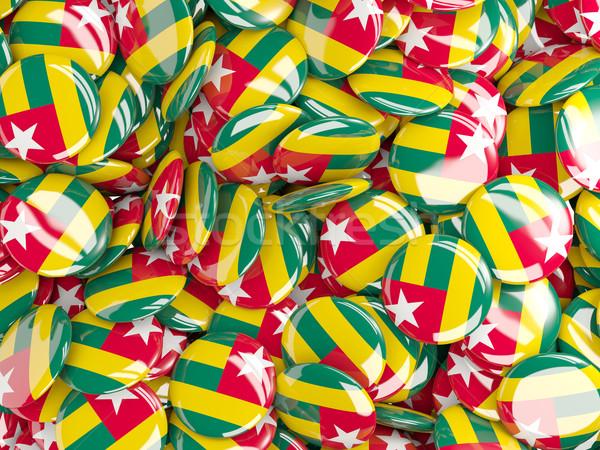 Banderą Togo świat tle kraju kółko Zdjęcia stock © MikhailMishchenko