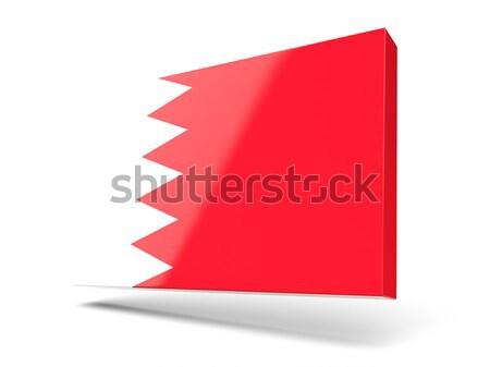 3D флаг Катар изолированный белый волна Сток-фото © MikhailMishchenko