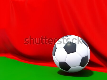 Bandeira Bangladesh futebol equipe país Foto stock © MikhailMishchenko