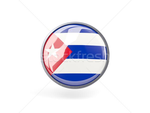 икона флаг Куба металл кадр путешествия Сток-фото © MikhailMishchenko