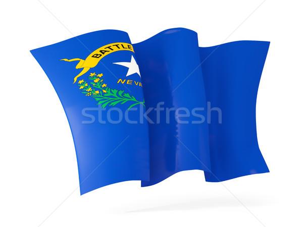 Nevada bayrak ikon Amerika Birleşik Devletleri Stok fotoğraf © MikhailMishchenko