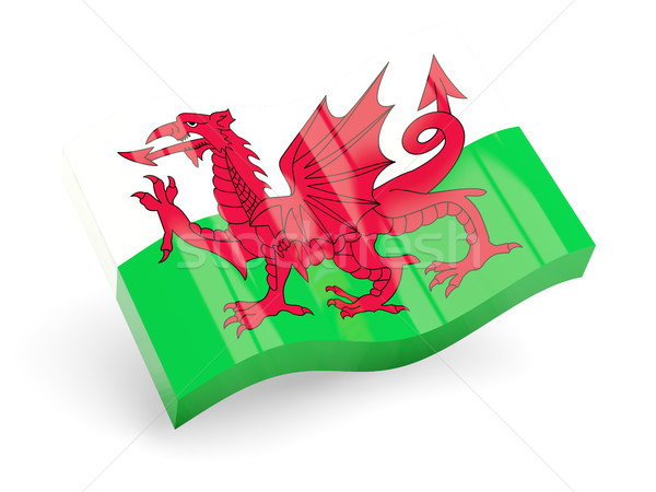 3d flag of wales Stock photo © MikhailMishchenko