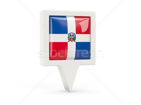 Dominic Republic Flag Belt Buckle //Domingos Bandeira Da Rep/ública Belt Buckle