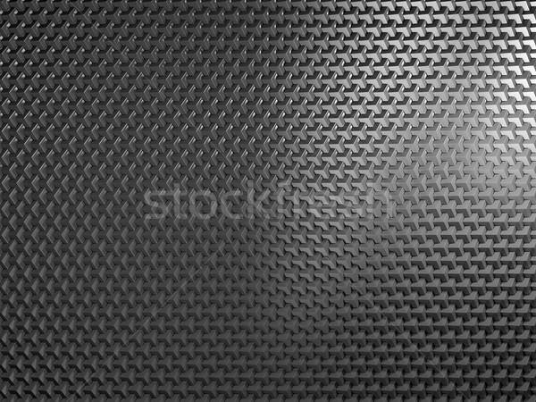 Czarny metal tle przemysłu wzór drutu Zdjęcia stock © MikhailMishchenko
