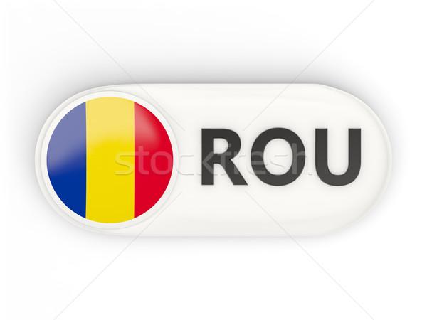 икона флаг Румыния iso Код стране Сток-фото © MikhailMishchenko