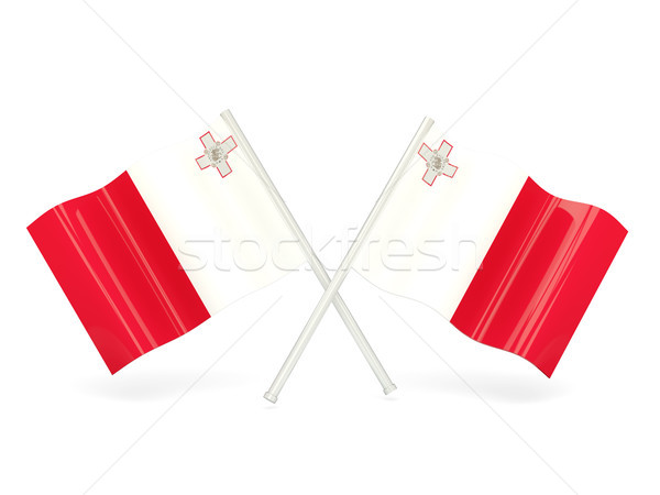Flag of malta Stock photo © MikhailMishchenko