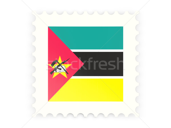 Postage stamp icon of mozambique Stock photo © MikhailMishchenko