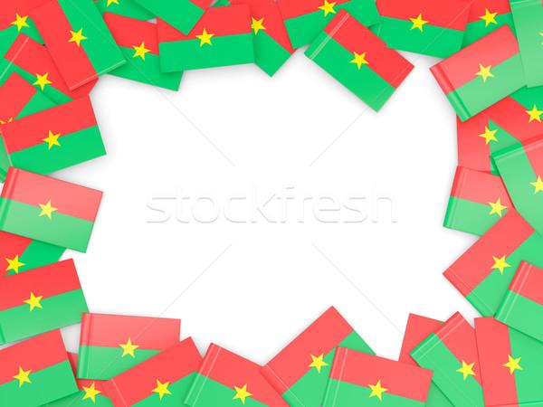 Frame with flag of burkina faso Stock photo © MikhailMishchenko