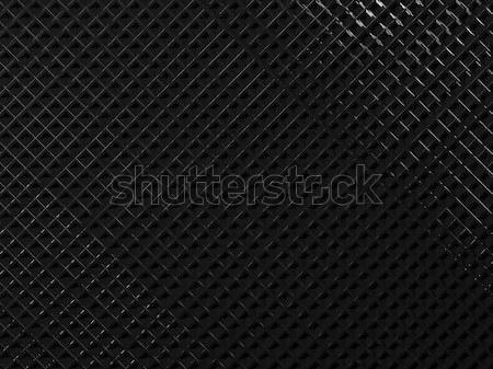 Negro metal textura fondo orador industria Foto stock © MikhailMishchenko