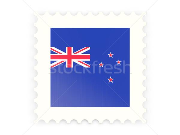 Icono Nueva Zelandia aislado blanco signo Foto stock © MikhailMishchenko