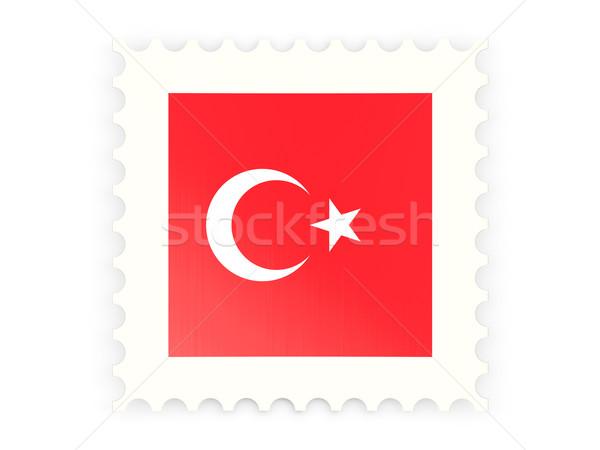 Postage stamp icon of turkey Stock photo © MikhailMishchenko
