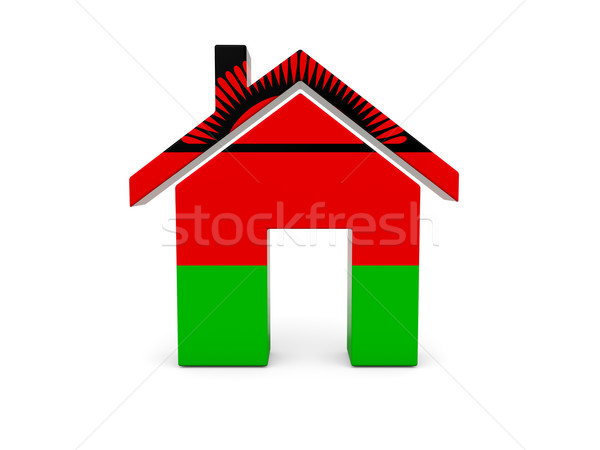 Home with flag of malawi Stock photo © MikhailMishchenko
