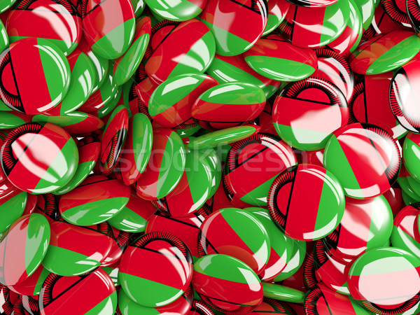 Background with round pins with flag of malawi Stock photo © MikhailMishchenko